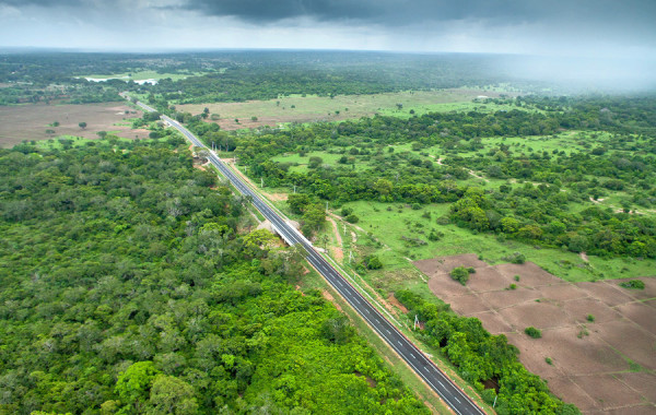 Mankulam – Mullaithivu (A-34) Road