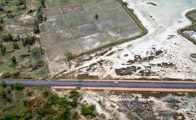 Navatkuli Karaitivu Mannar road (A32)