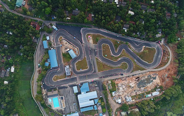 Extension of Sri Lanka Karting Circuit Bandaragama