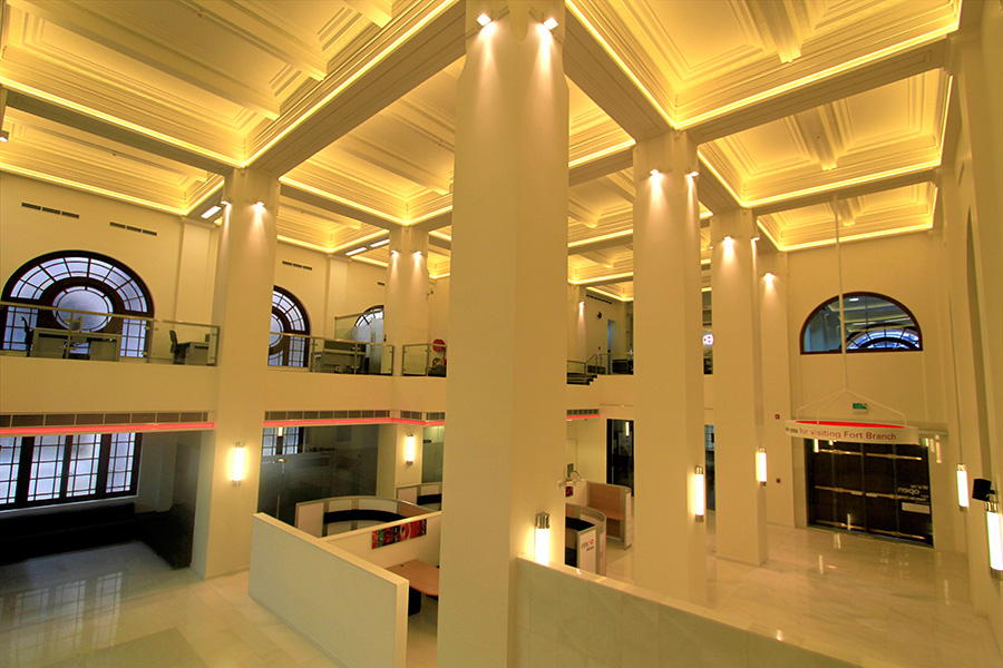 Refurbishment of HSBC Head Office Building, Colombo